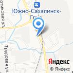 Ремхолод на карте Южно-Сахалинска