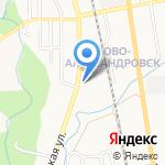 Библиотека №14 на карте Южно-Сахалинска
