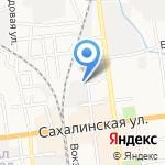 Городской Водоканал на карте Южно-Сахалинска