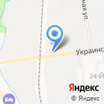 Магазин морепродуктов на карте Южно-Сахалинска