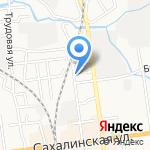 ВОЛАНД на карте Южно-Сахалинска