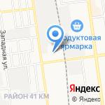 АВТОБОТ на карте Южно-Сахалинска