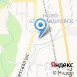 Почтовое отделение №22 на карте Южно-Сахалинска
