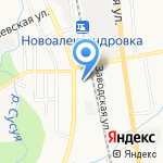 Пожарная часть №7 на карте Южно-Сахалинска