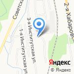 Надежда на карте Южно-Сахалинска