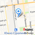 АРТ-Сервис на карте Южно-Сахалинска