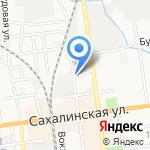 Пластидип65 на карте Южно-Сахалинска