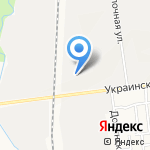 Оптово-розничная компания на карте Южно-Сахалинска