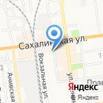 Б\У-ТИК на карте Южно-Сахалинска