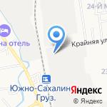 ОСТРОВ`ok на карте Южно-Сахалинска