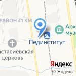 СССР на карте Южно-Сахалинска