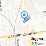 КБ БРИДЖ на карте Южно-Сахалинска