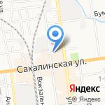 М-Райт на карте Южно-Сахалинска