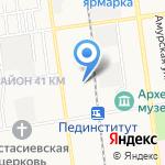 Компания юридических услуг на карте Южно-Сахалинска