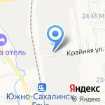 Ликнар на карте Южно-Сахалинска