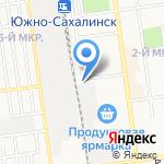 Литейно-Механический завод на карте Южно-Сахалинска