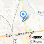 Министерство образования на карте Южно-Сахалинска