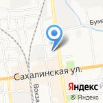 Товары Рыбакам на карте Южно-Сахалинска