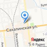 ФИНЭКО-РОСА-1 на карте Южно-Сахалинска