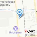 Диалог на карте Южно-Сахалинска