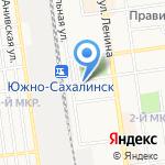 Хабаровская топливная компания на карте Южно-Сахалинска