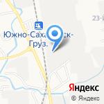 188 путевая машинная станция на карте Южно-Сахалинска