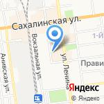 Империя кухонь на карте Южно-Сахалинска
