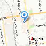 Сахалин-Дайвинг на карте Южно-Сахалинска