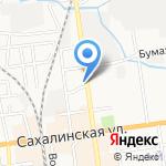 Рататуй на карте Южно-Сахалинска