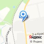 Маверик на карте Южно-Сахалинска