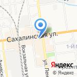 Магазин на карте Южно-Сахалинска