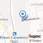 Электроспецстрой на карте Южно-Сахалинска