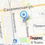Сантехника на карте Южно-Сахалинска