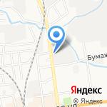 Мебельный магазин на карте Южно-Сахалинска