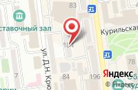 Схема проезда до компании Сбербанк в Ильском