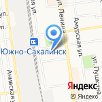 Адвокат Вершинина С.Ю. на карте Южно-Сахалинска