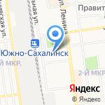 Рыбак Союз-Партнер на карте Южно-Сахалинска