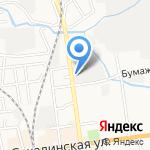 ТОЧ на карте Южно-Сахалинска
