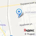 Сахалинэнергоремонт на карте Южно-Сахалинска