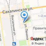 МАБЕЛ на карте Южно-Сахалинска