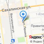 РОССКЛАСС на карте Южно-Сахалинска