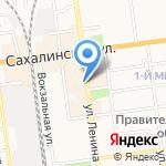 ВашЛаВаш на карте Южно-Сахалинска