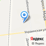 Федорино счастье на карте Южно-Сахалинска