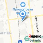 ГруппСТ на карте Южно-Сахалинска