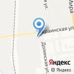 Эконом на карте Южно-Сахалинска