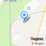 САХЛЮКС на карте Южно-Сахалинска