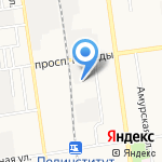 САСКО-Навигатор на карте Южно-Сахалинска