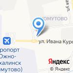 ТОК на карте Южно-Сахалинска