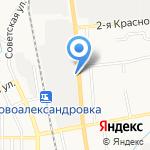 Sever Auto на карте Южно-Сахалинска