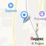 Газоблок Сахалин на карте Южно-Сахалинска